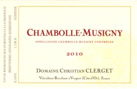 Clerget Chambolle Musigny